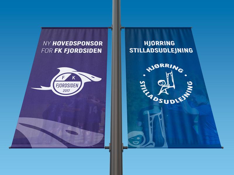 Hovedsponsor i FK Fjordsiden, et stærkt samarbejde